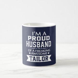 I'M A PROUD TAILOR'S HUSBAND COFFEE MUG