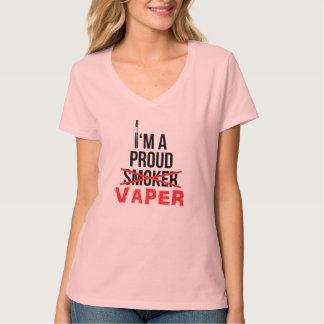 I'm A Proud Vaper - Women's Nano V-Neck T-Shirt