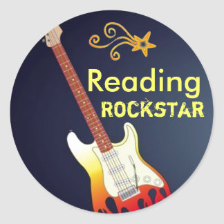 I'm a Reading Rockstar Stickers