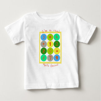 I'm a real Math Genius Baby T-shirt