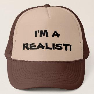 """""""I'M A REALIST!"""" TRUCKER HAT"""