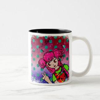 I'm a rockstar! Two-Tone coffee mug