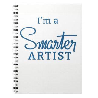 I'm a Smarter Artist notebook