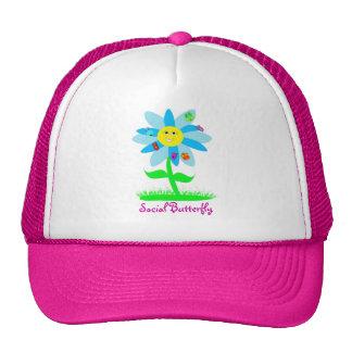 I'm A Social Butterfly Trucker Hat