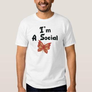 I'm A Social Butterfly Tshirt