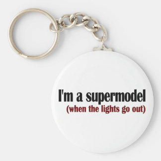 I'M A Supermodel Keychain