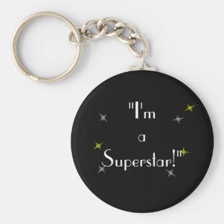 """I'm a Superstar!"" Keychain"