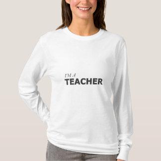 I'M A TEACHER/GYNECOLOGIC-OVARIAN CANCER T-Shirt