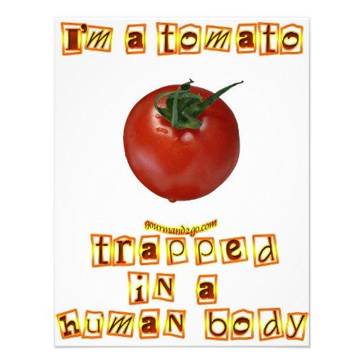 I'm a Tomato . . . Invitation
