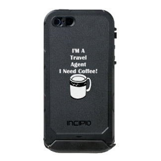 I'M A Travel Agent, I Need Coffee! Incipio ATLAS ID™ iPhone 5 Case