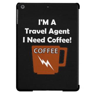 I'M A Travel Agent, I Need Coffee! iPad Air Cover