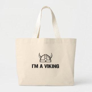 I'm a Viking Large Tote Bag
