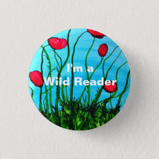 I'm a Wild Reader - Azure Button
