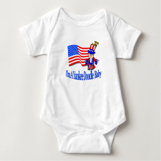 I'm A Yankee Doodle Baby! Baby Bodysuit