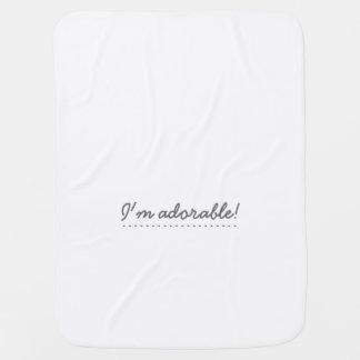 I'm adorable! - Baby Blanket