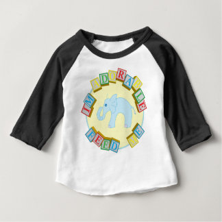 """I'm Adorable, Feed Me!"" Doodle Noodle Designs Baby T-Shirt"