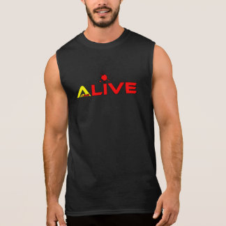 I'm Alive Ultra Cotton Sleeveless T-Shirt
