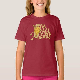 I'm All Ears Cute Cartoon Joke Graphic T-Shirt