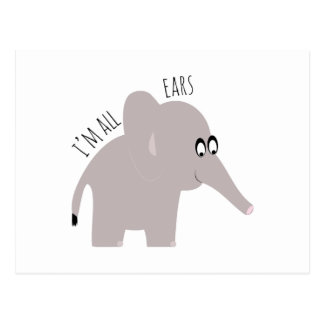 Im All Ears Post Cards