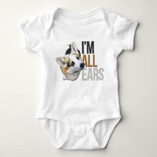 I'm All Ears - Tricolor Welsh Corgi Pembroke Baby Bodysuit