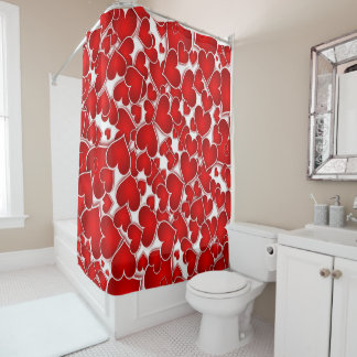 I'M ALL HEART SHOWER CURTAIN