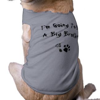 Im allant être un frère - vêtement pour chien