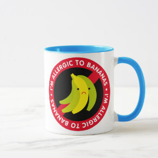 I'm allergic to bananas! Banana allergy Mug