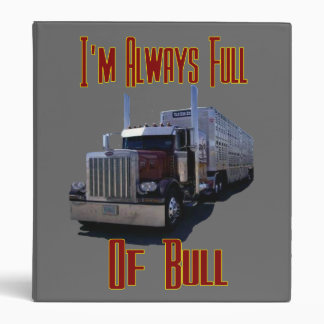 I'm Allways Full of Bull Binders