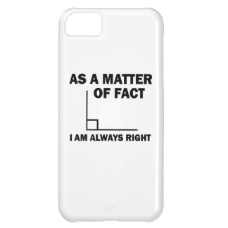 I'm always right cover for iPhone 5C
