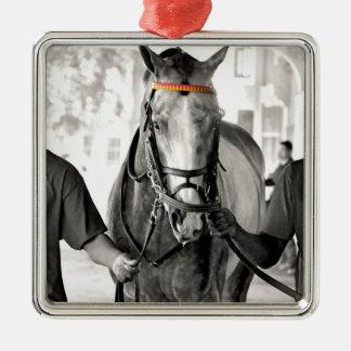 I'm Amazing Silver-Colored Square Ornament