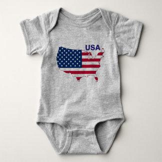 I'm American Baby Baby Bodysuit