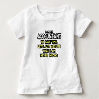 I'M AN ACCOUNTANT, TO SAVE TIME, LET'S ASSUME... BABY ROMPER