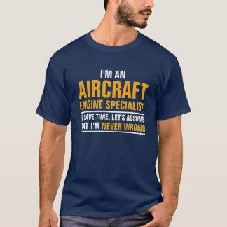 I'm an Aircraft Engine Specialist T-Shirt