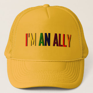 I'm an Ally Yellow Hat