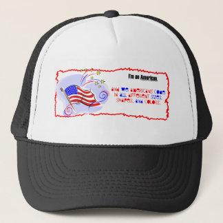 I'm an American Trucker Hat