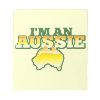 I'm an Aussie! Notepad