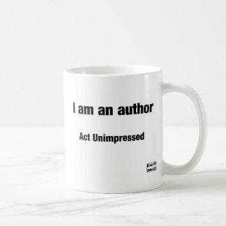 I'm an author coffee mug
