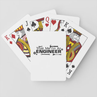I'm an Engineer , Gift For Engineer Playing Cards