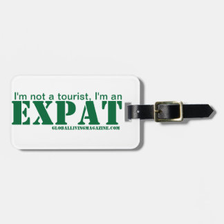 I'm an EXPAT Luggage Tag