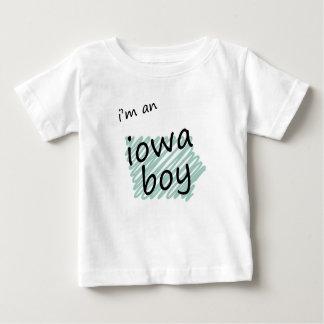 I'm an Iowa Boy Baby T-Shirt
