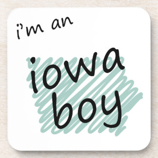 I'm an Iowa Boy Drink Coasters