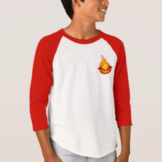 I'm Angry! Kids red Raglan T-shirt
