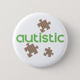 I'm Autistic Awareness 2 Inch Round Button