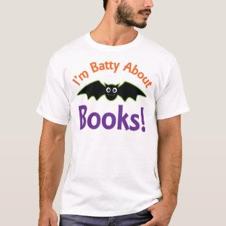 Im Batty About Books T-Shirt