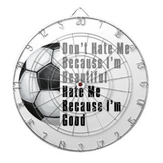 Im Beautiful Im Good Soccer Ball Dart Boards