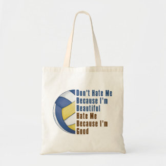 Im Beautiful Im Good Volleyball Tote Bag