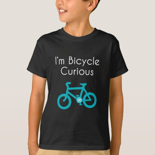 I'm Bicycle Curious T-Shirt