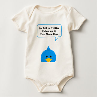 I'm BIG on Twitter Baby Bodysuit