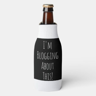 I'm Blogging About This! Bottle cooler
