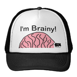 I'm Brainy Cap Trucker Hat